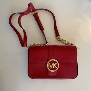 MICHAEL Michael Kors Red Crossbody Bag - NWOT